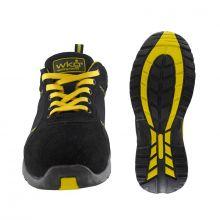 Chaussures de sécurité SPORT WORK noire/jaune S1P Working Man