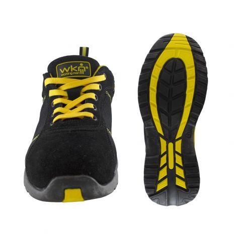 chaussures de séparation 05bc1 25532 Chaussures de sécurité SPORT WORK noire/jaune S1P Working Man - OUTILS.FR