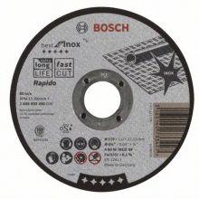 Disque à tronçonner A 60 W 115x1,0x22,23 Best fot Inox Bosch