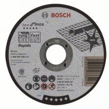 Disque à tronçonner A 60 W 125x1,0x22,23 Best fot Inox Bosch