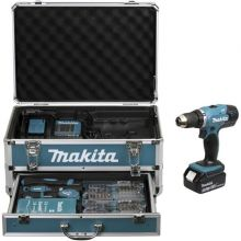 Perceuse visseuse 18 V Li-Ion 3 Ah Ø 13 mm (+ kit d'accessoires) DDF453SFX3 MAKITA