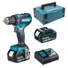 Perceuse visseuse Makita 18V Li-Ion 5Ah ø13 2 batteries + chargeur DDF485RTJ
