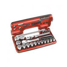 Coffret DBOX douilles 1/2 6 pans métriques SL.DBOX1PB Facom