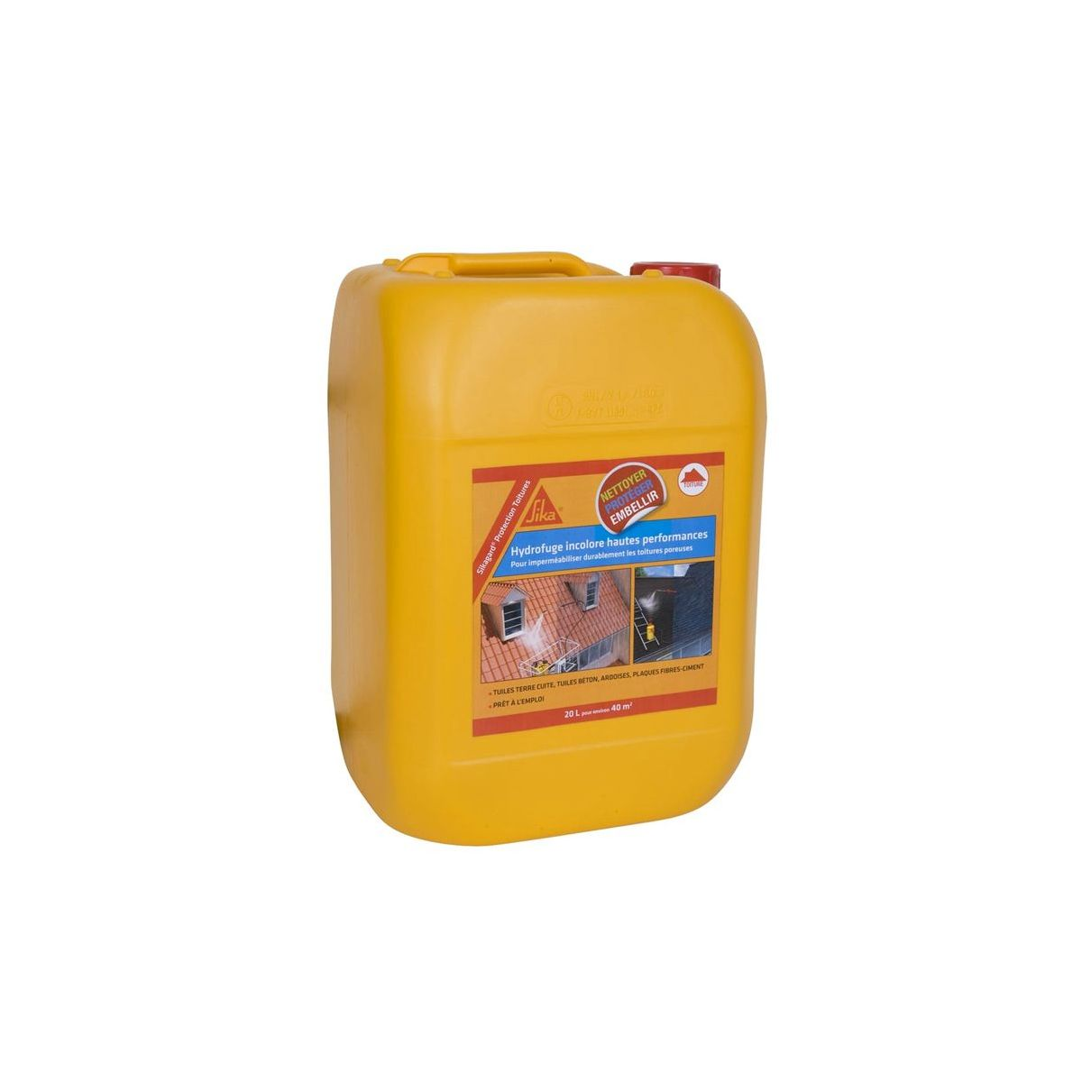 Hydrofuge Sikagard Protection Toitures Bidon 20l Sika Outils Fr