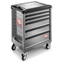 Servante Roll M3 6 tiroirs grise ROLL.6GM3PB Facom