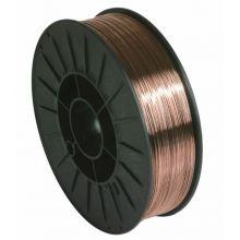 Bobine MAG fil plein acier ø0,6 5kg G3Si1 ER70S-6 S200 GYS 086111