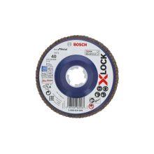 Disque Lamelle Bst Metal 125 G40 X-Lock Bosch 2608619209