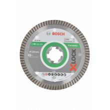 Disque de coupe Diamant Ceramic Extraclean 125mm 1.4x7 X-Lock Bosch 2608615132