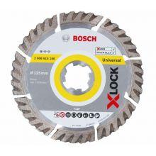 Disque de coupe diamant Std Universal 125mm 2.0x10 Bosch 2608615166