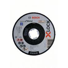 Disque à tronçonner Expert for Metal X-Lock 125x2,5 Plat Bosch 2608619255