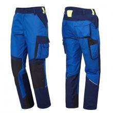 Pantalon de travail CONCEPT bleu roi/bleu marine PIONIER