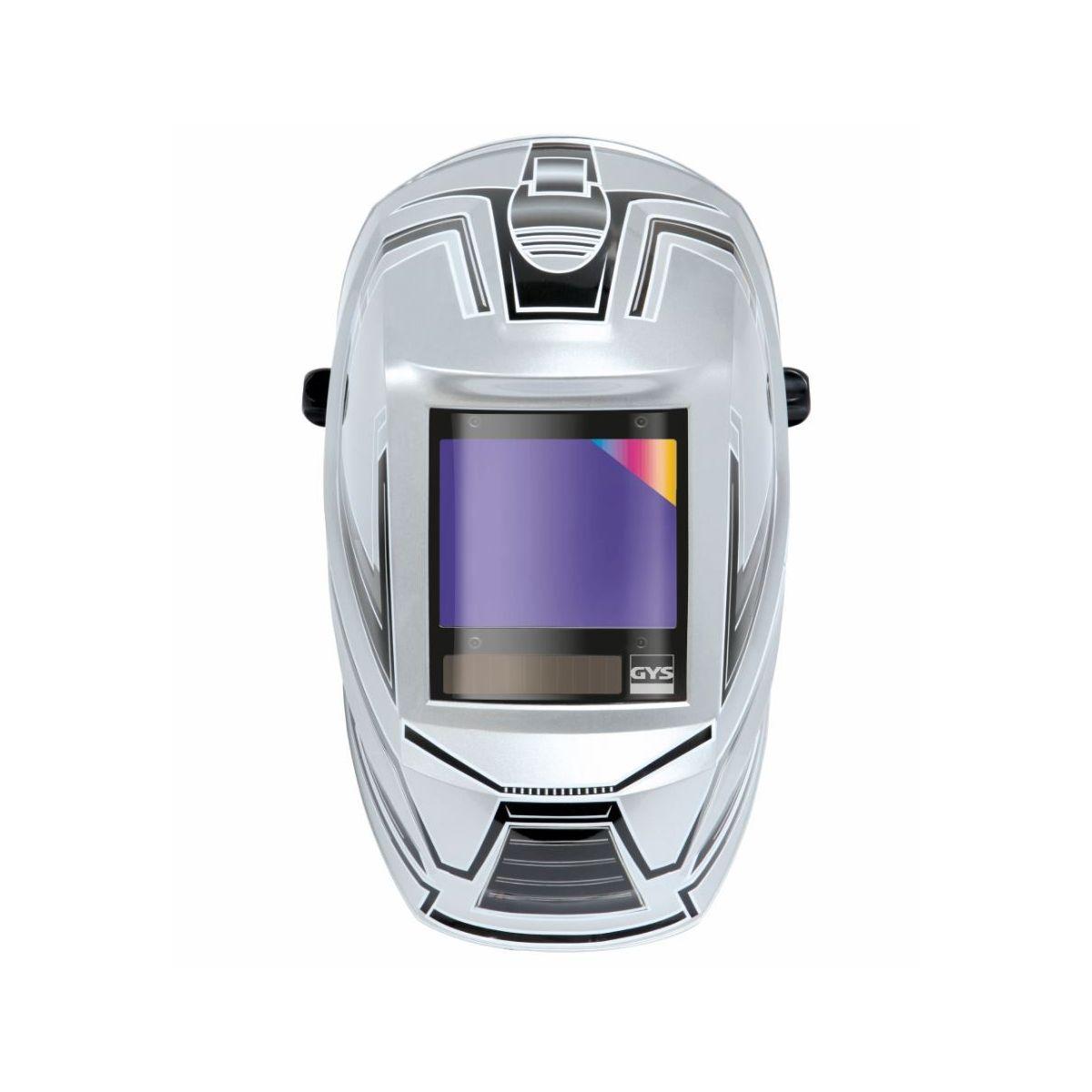 TEKWARE Ultra Grand /écran de visualisation Vraie Couleur Casque de soudage /à assombrissement Automatique /à /énergie Solaire 4 capteurs darc Large Ombre 4//9-13 Masque de soudage de meulage /à larc