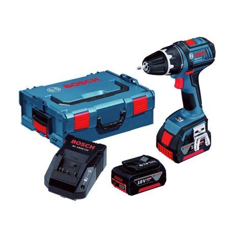 Perceuse visseuse à batterie 18V Li-Ion 4Ah GSR 18 V-LI Bosch 0615990GU5