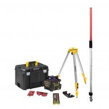 Pack complet investissement niveau rotatif RL600 Stanley FMHT77222-1