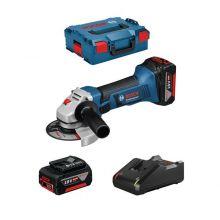 Meuleuse sans fil Meuleuse angulaire sans fil GWS 18-125 V-LI Pro 2x4.0ah Bosch 060193A30Y