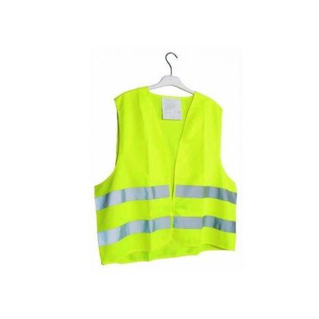 Gilet de signalisation jaune fluorescent taille XL