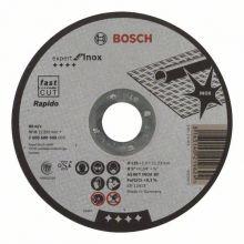 Disque 125 X 1,0 Inox Plat Bosch 2608600549