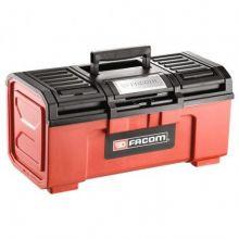 Boîte à outils plastique 19 fermeture automatique FACOM