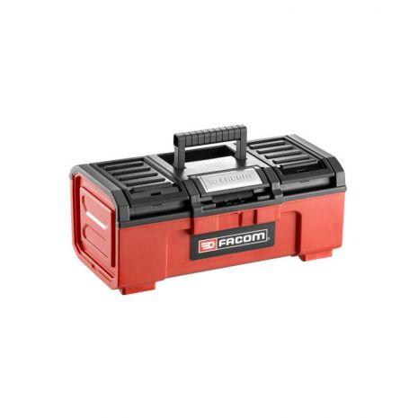 Boîte à outils plastique 16 fermeture automatique FACOM