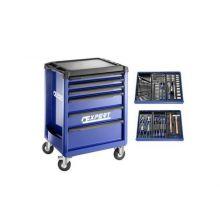 Servante 6 tiroirs + 6 modules 123 outils EXPERT BY FACOM E220310