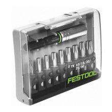 Coffret 9 embouts Torx avec porte-embout Festool