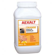 Savon gel microbilles sans solvant senteur orange 5L