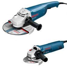 Pack de 2 meuleuses d'angle GWS 22-230H + GWS 1000 Bosch