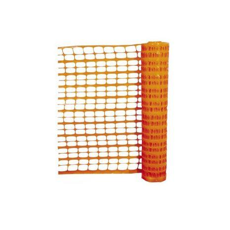 Barrière de signalisation orange 1m traité anti UV