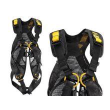 Harnais antichute Newton Easyfit T2 version EU noir et jaune Petzl