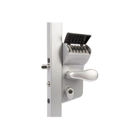 Serrure zilv profil 40-60 codes mécanique pour portail battant
