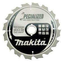 Lame de scie circulaire carbure ''Specialized'' construction ø 235mm Makita B-13699