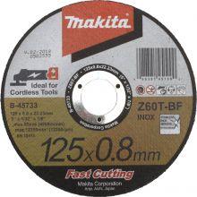 Disque A Tronçonner Metal 125x0,8x22,23 mm Z60T Makita B-45733