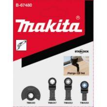 Kit Bois/Metal Starlock 4Pcs (Tma045/047/053/058) Makita B-67480