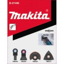 Kit Carrelage Starlock 4Pcs (Tma058/065/069/073) Makita B-67496