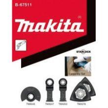 Kit Bois Starlock 5Pcs (Tma045/047/053+ Tma078x2) Makita B-67511