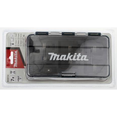 Coffret 6 Douilles 1/2''+Adaptateur 1/4'' Makita B-69733