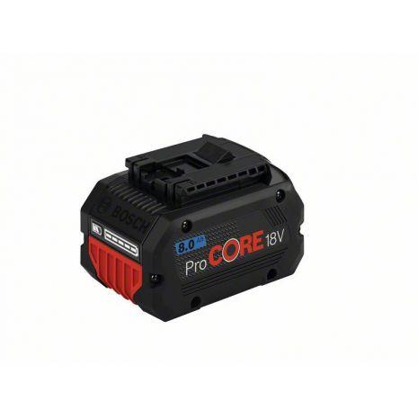 1xBatt ProCORE18V 8.0 Ah Bosch 1600A016GK