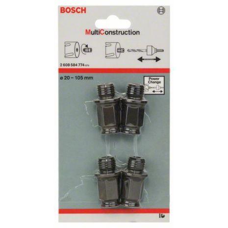 Adaptateurs de transition, set de 4 pièces Bosch 2608584774