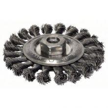 Brosse circulaire 115mm à fils d'acier torsadés Bosch 2608622059