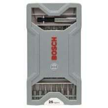 Coffret d'embouts de vissage, 25pièces Bosch 2607017037