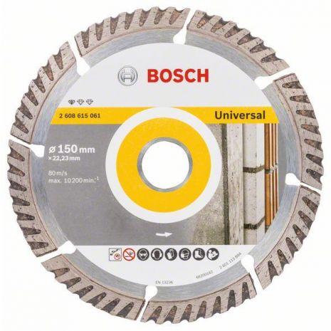 Disque à tronçonner diamanté Standard for Universal 150 x 22,23 Bosch 2608615061
