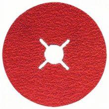 Disque abrasif sur fibres R780, Best for Metal + Inox Bosch 2608621611