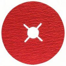 Disque abrasif sur fibres R780, Best for Metal + Inox Bosch 2608621612