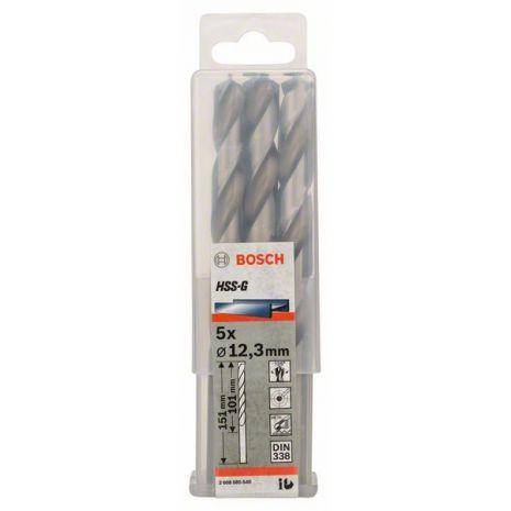 Forets à métaux rectifiés HSS-G, DIN 338 Bosch 2608585540