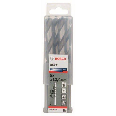 Forets à métaux rectifiés HSS-G, DIN 338 Bosch 2608585541