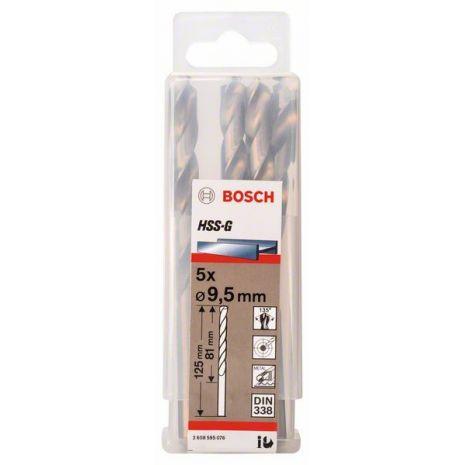 Forets à métaux rectifiés HSS-G, DIN 338 Bosch 2608595076