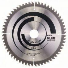 Lame de scie circulaire Multi Material Bosch 2608640446