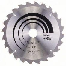 Lame de scie circulaire Optiline Wood Bosch 2608640431