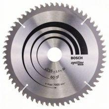 Lame de scie circulaire Optiline Wood Bosch 2608640433