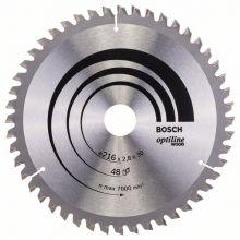 Lame de scie circulaire Optiline Wood Bosch 2608640641